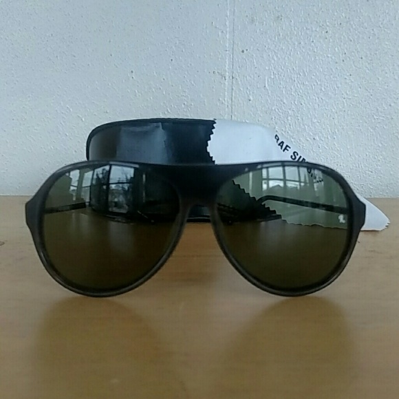 Raf Simons Linda Farrow Gallery Sunglasses-Black